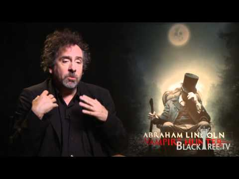 Abraham Lincoln Interview with Tim Burton