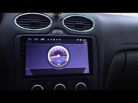 Обзор магнитолы Chogath на Форд Фокус 2 Андроид 6