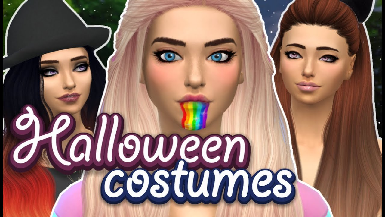 Sims Halloween Costume & Sc 1 St YouTube