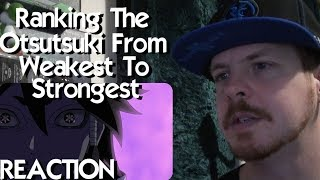 Ranking the Otsutsuki from Weakest to Strongest REACTION