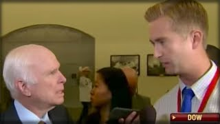 REPORTER ASKED JOHN MCCAIN IF HE HATES TRUMP, SUDDENLY ALL HELL BROKE LOOSE
