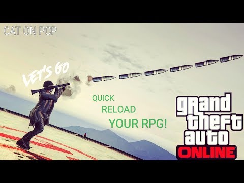 HOW TO RAPID FIRE/QUICK RELOAD THE RPG! | TAKE OUT JETS EASY! (BEST GTA 5 TUTORIAL)