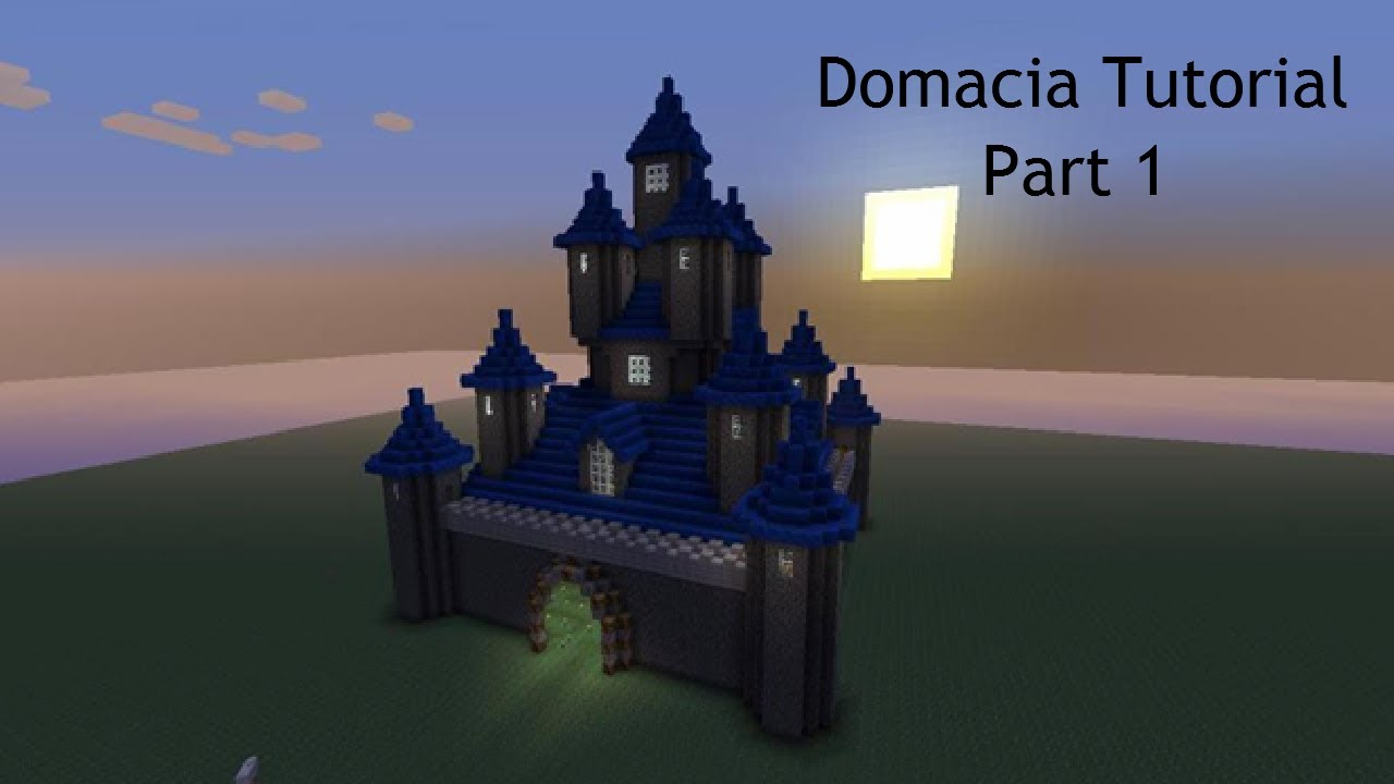Minecraft Domacia Castle Tutorial Part 1  Xbox 360  Pc