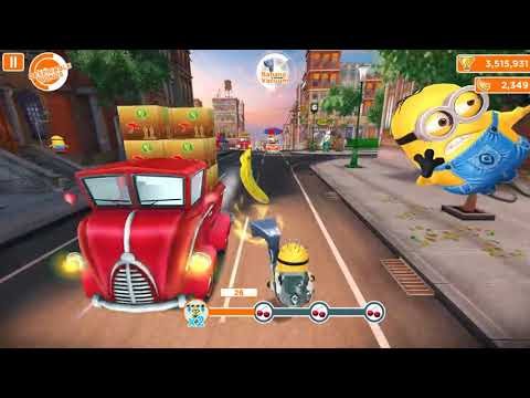 Despicable Me: Minion Rush | Downtown | Level 185 | HD Top 10 best Gameplay games