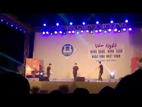 Nhảy hip hop Văn nghệ THPT Sào Nam