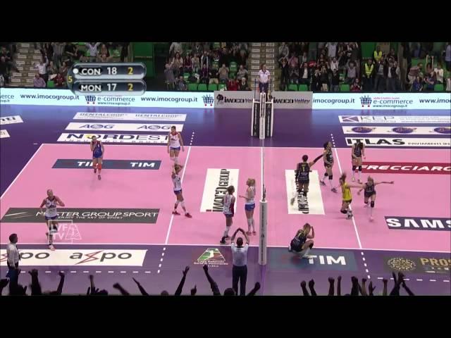 #videoemozioni. Imoco Volley Conegliano - Metalleghe Sanitars Montichiari