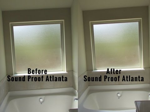 Sound Proof Atlanta | Our Sound Proof Work Is Behind The Paint