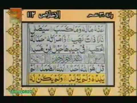 Surah Al Ikhlas With urdu Translation Full