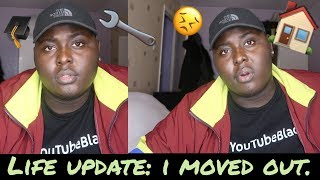 LIFE UPDATE - WHY I MOVED OUT AGAIN, BEING ALONE, INSECURITIES & 2ND YEAR UNI!