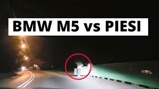 BMW M5 - arogancja czy uprzejmość w nocy?