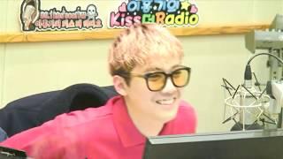 170327 Hongki's Kiss The Radio Cnblue  Lee Jungshin, Kang Minhyuk