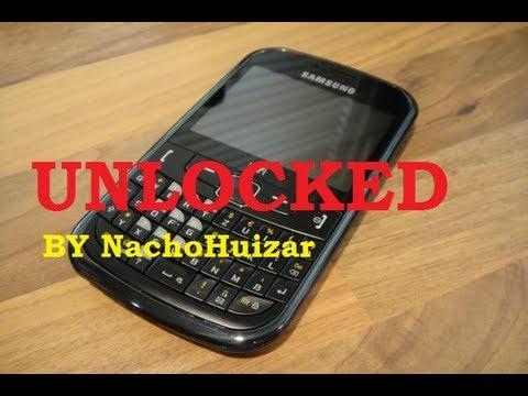 Quitar Clave de Seguridad de un Samsung GT-S3350 ESPANOL!