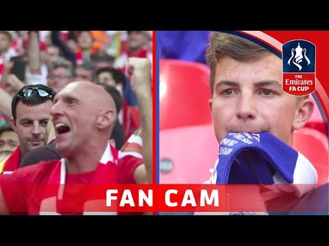 Arsenal 2-1 Chelsea - Emirates FA Cup Final 2016/17 | FAN CAM