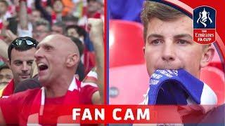 Arsenal 2-1 Chelsea - Emirates FA Cup Final 2016/17   FAN CAM