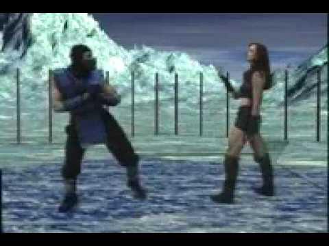 Mortal Kombat Martial Arts Federation - sub zero v siann round1