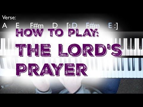 The Lord's Prayer (Hillsong Worship Piano Tutorial)