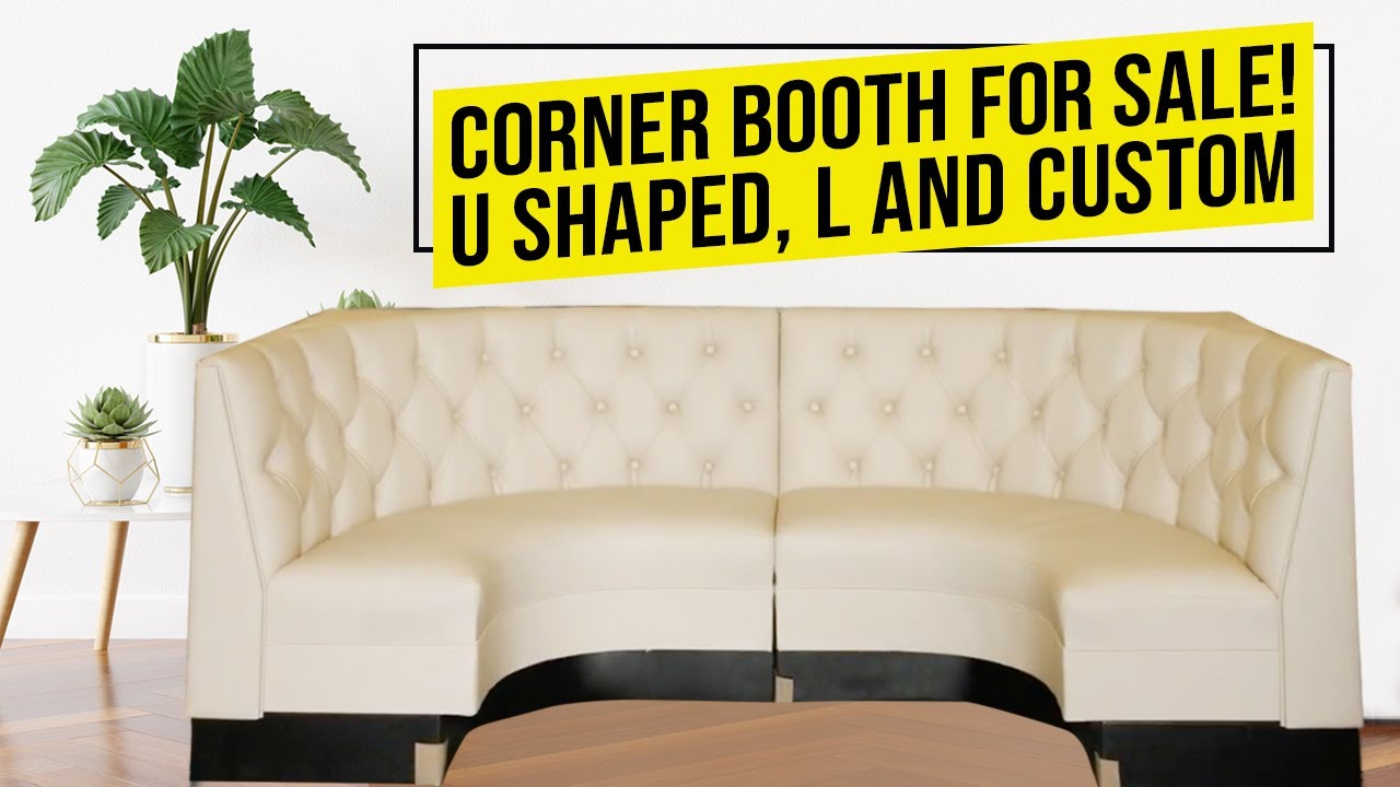 Booths For Sale >> Corner Booth For Sale U Shaped L And Custom Shaped Restaurant Booths