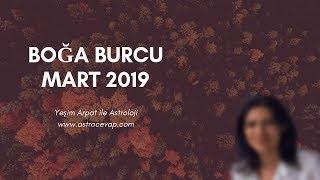 BOĞA Burcu Mart 2019 Astroloji