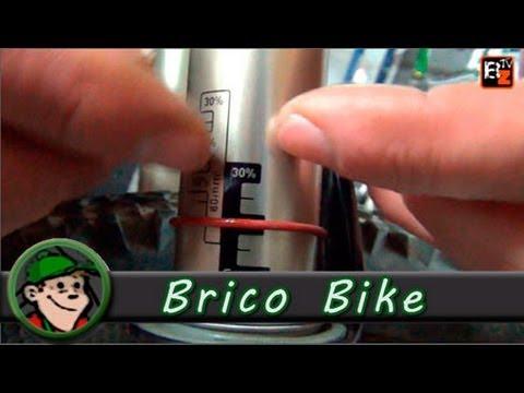 Características y ajustes del SAG en la suspensión de tu MTB - Bricobike