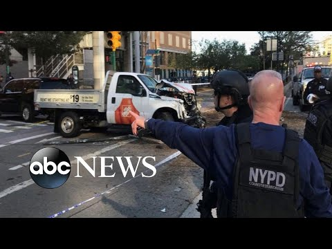 8 dead in NYC after man mows down pedestrians, cyclists with truck
