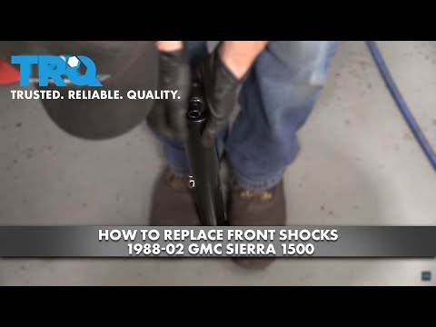How to Replace Front Shocks 1988-02 GMC Sierra 1500