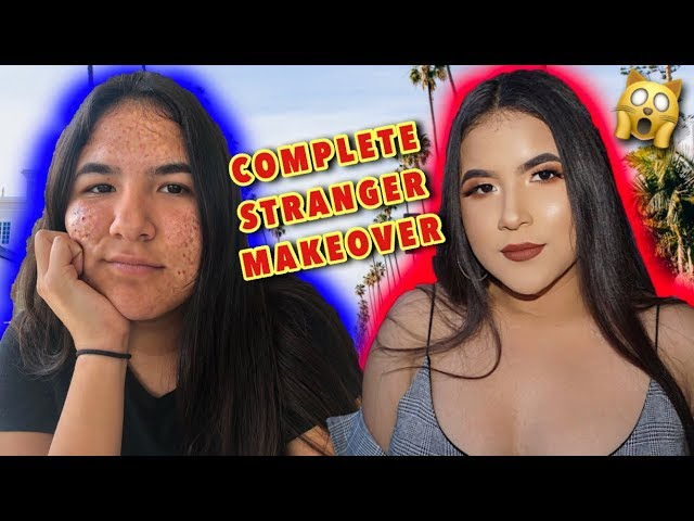 GIVING A STRANGER A COMPLETE MAKEOVER