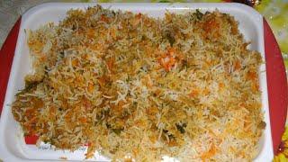 Chicken Biryani ( Madrasi style ) homemade spicy chicken biryani with Madrasi biryani..