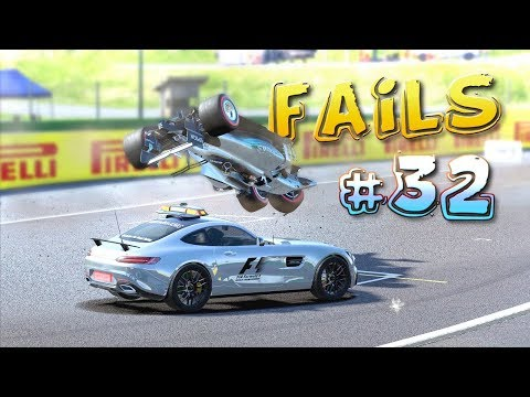 Racing Games FAILS Compilation #32