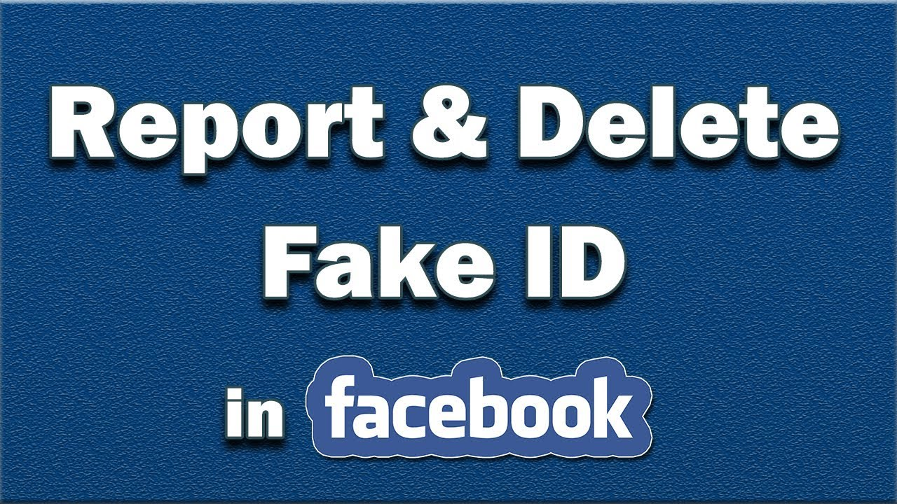 Delete To And Fake Facebook amp;tricks Tv Id - How Report A Youtube Tips