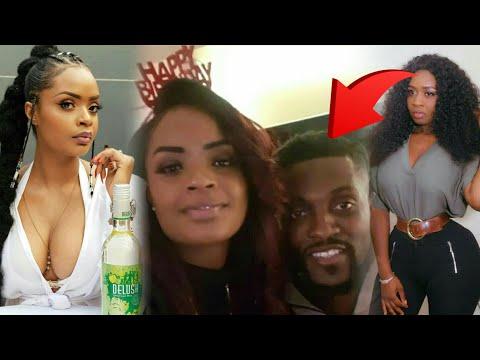 Adebayor girlfriend shames Princess shyngle as they celebrate Love life....