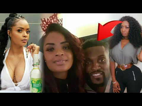 Adebayor girlfriend shames Princess shyngle as they celebrate Love life....