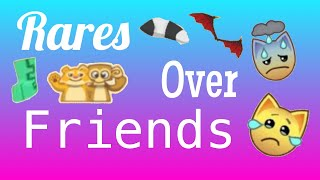 Rares Over Friends! Very Emotional! - Play Wild