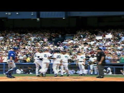 Derek Jeter's first grand slam