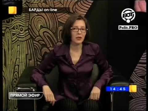 "Елена Гудкова в программе ""Барды on-line"". ""Автопортрет""."