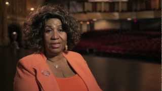 aretha franklin at the detroit opera house for national opera week