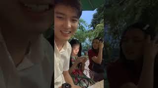 Bi max ,Lam Chi, Tâm Ý quẩy trong lúc chờ quay