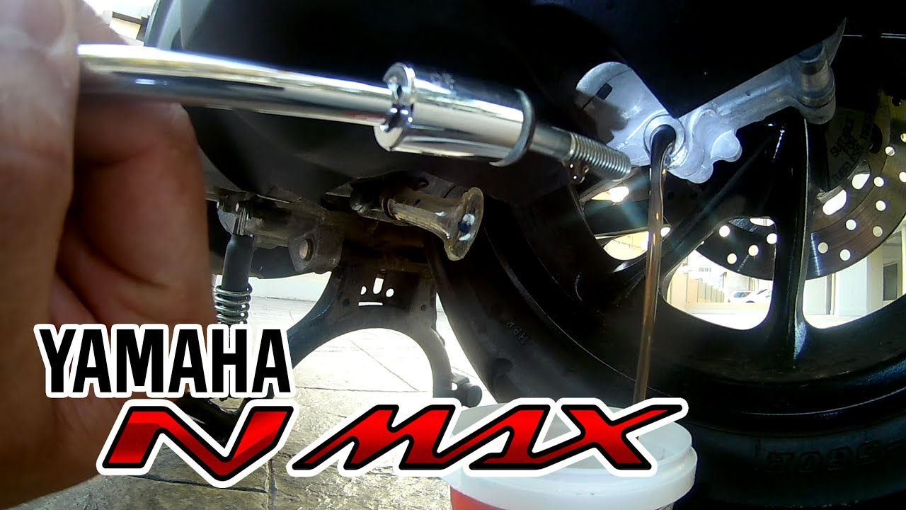 How To Change Brake Fluid >> Transmission oil change - Yamaha Nmax - YouTube