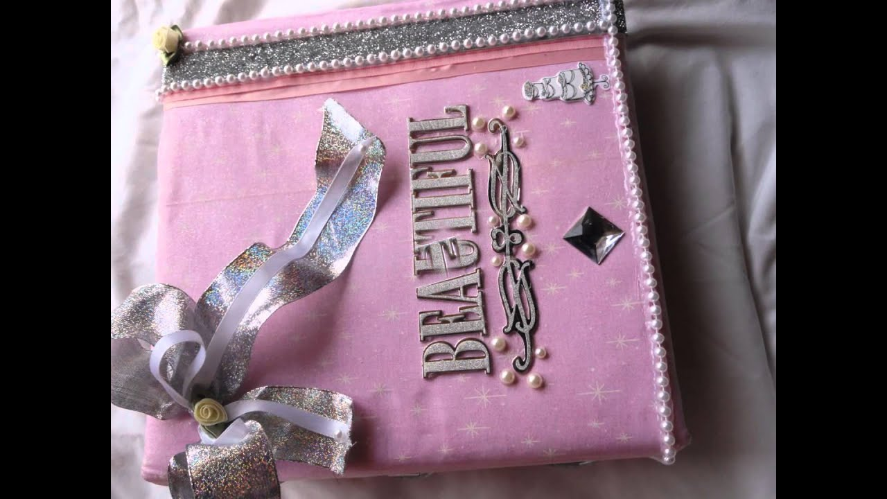 Album de boda y quince era libro de firmas youtube for Decoracion de album de fotos