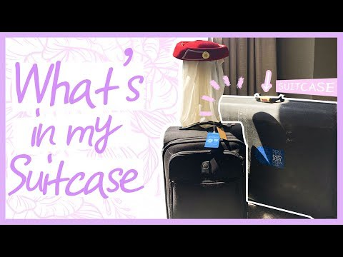 CABINCREW EDITION✈️ | WHAT'S IN MY EMIRATES SUITCASE????