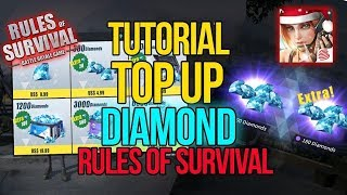 HOW TO *TOP UP* RULES OF SURVIVAL ACCOUNT!!
