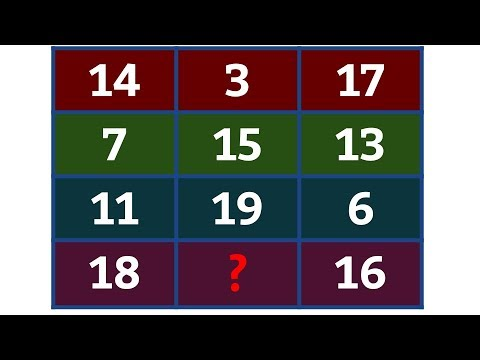 New Math Puzzle with Answer | Maths Puzzles with Solution