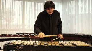 Andrei Pushkarev plays Majestic vibraphone - The Little Jazz Waltz