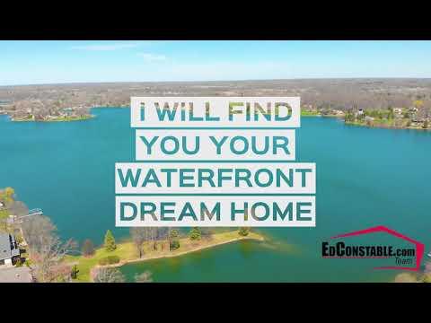 Lake Shinanguag Waterfront Homes For Sale  - Atlas Twp, Mi