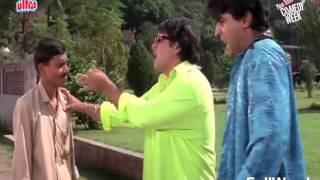 Govinda And Kader Khan Dulhe Raja Comedy Scenes Part2