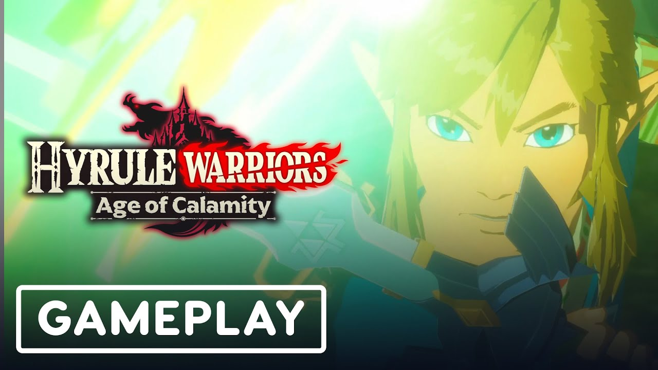 Hyrule Warriors Age Of Calamity 13 Minutes Of Gameplay Japanese Vo Tgs 2020 Youtube