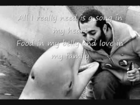 Raffi All I Really Need with Lyrics