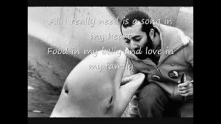 Raffi- All I Really Need with Lyrics
