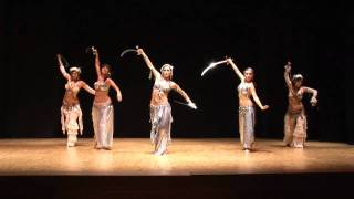 Eva Sampedro - Coreografia Fusion Clasico y Tribal (Bellydance Evolution)(13-06-2010)