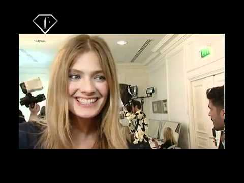 First Face Talks Spring Summer 2010 Constance Jablonski
