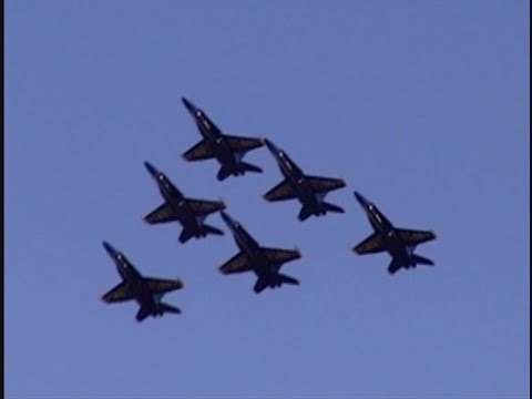 2005 NAS Patuxent River Air Expo - US Navy Blue Angels